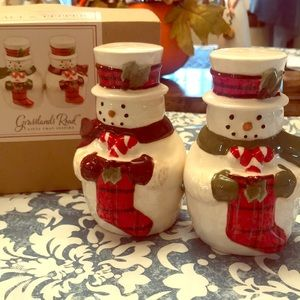 ⛄️ Snowmen Salt & Pepper Shakers